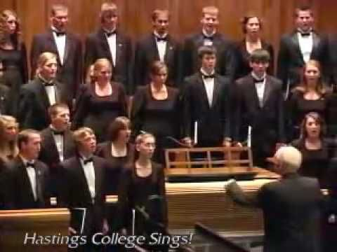 Beautiful Nebraska (The Hastings College Choir)