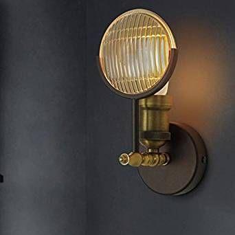 XMM soggiorno corridoio balcone personalizzato portico creativo retrò ristorante camera da letto industriale lampada da parete auto d'epoca [Classe di efficienza energetica A+]