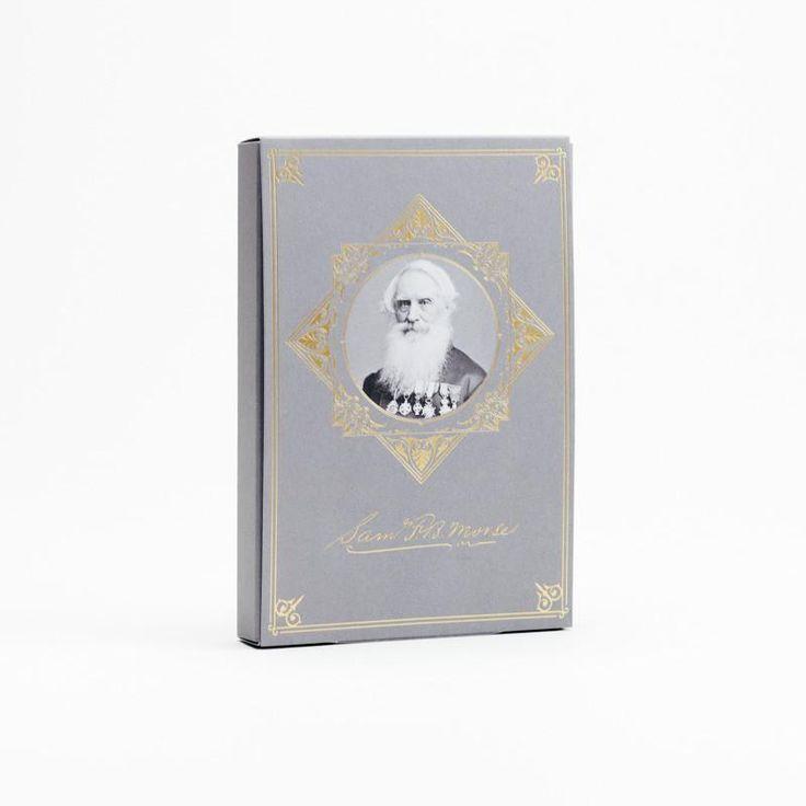 Samuel Morse Edition - Limited Edition Pocket Notebook 3-pack