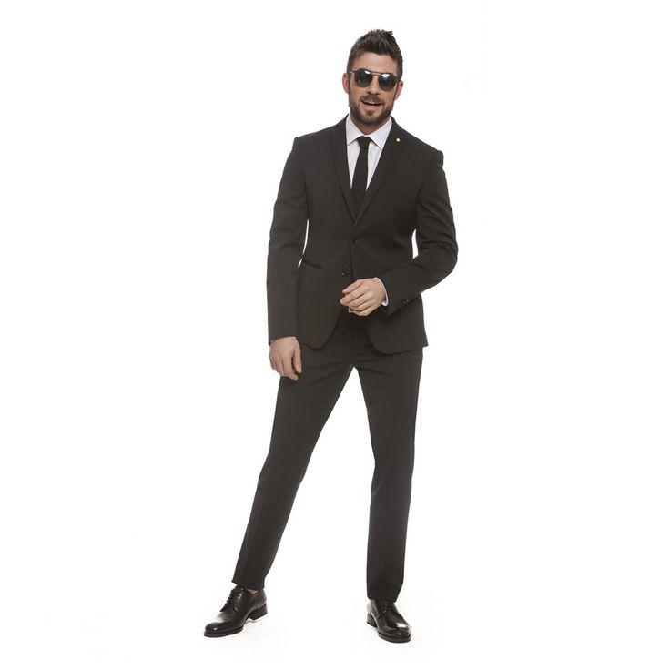 """Mod. L8315  Art. 867012 - STRUTTURA TECNICA BISTRETCH - """"Le Iene"""" style - Lebole Uomo Collezioni #abiti #Primavera #Estate2016 #fashion #italianstyle #stileitaliano #moda #leiene #lebole"""