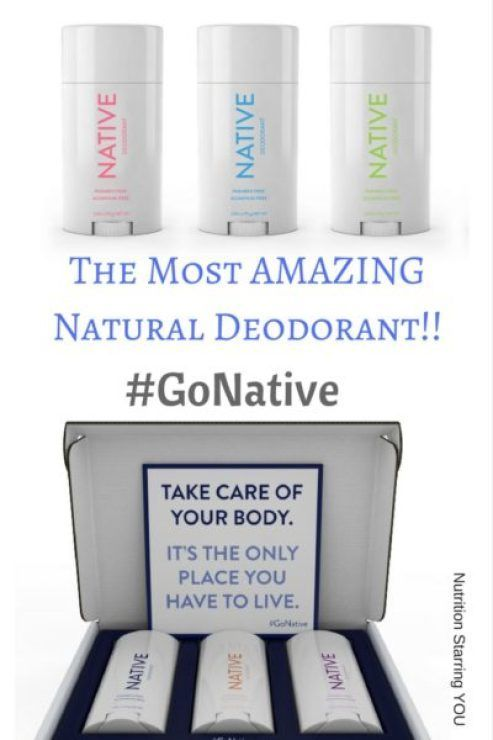 Do you want to use a natural deodorant but every one you've tried leaves you with that not so fresh feeling? I've got the answer!!! Native: The Best Natural Deodorant Ever! Plus a #giveaway!! via @LaurenPincusRD