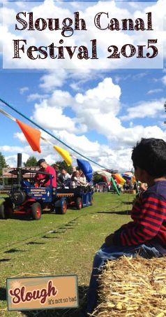 Slough Canal Festival 2015, Bloom Park, Middlegreen Road, Langley, Berkshire - steam engines, farm animals and the Dulux dog!