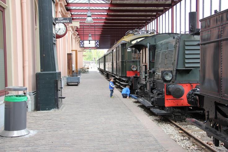Spoorwegmuseum Utrecht #Railwaymuseum #Holland