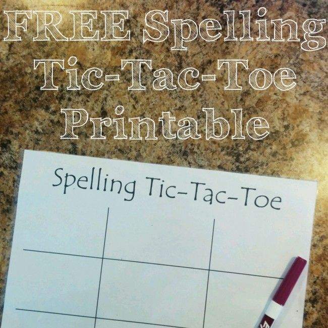 This is our favorite way to practice spelling words...the kids don't even realize they are writing their spelling words so many times!
