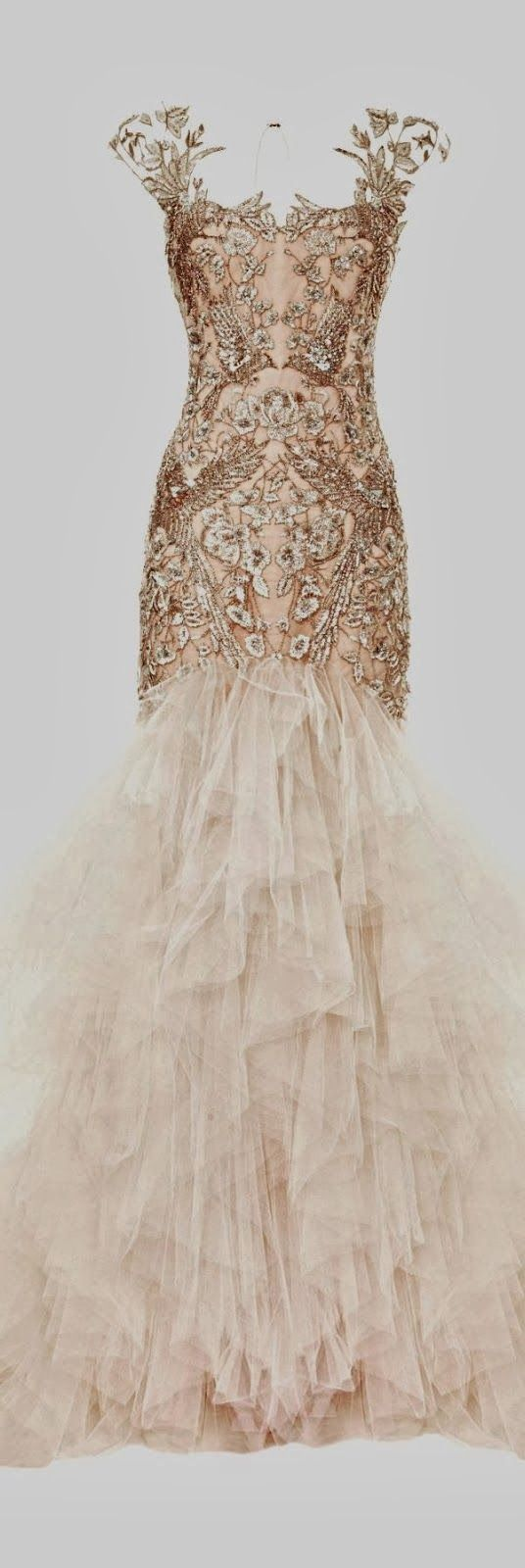 Wedding dress but doesn't have to be.