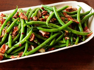 ** Green Beans and Bacon