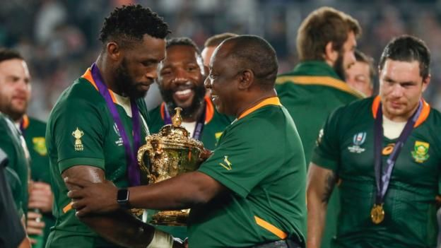 Siya Kolisi And South Africa S Triumph A Story To Inspire Far Beyond The Rugby Pitch South Africa Rugby Rugby Rugby World Cup