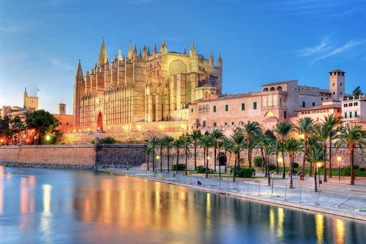 Islas Baleares (Islas Baleares) - Cathedral of Palma de Mallorca