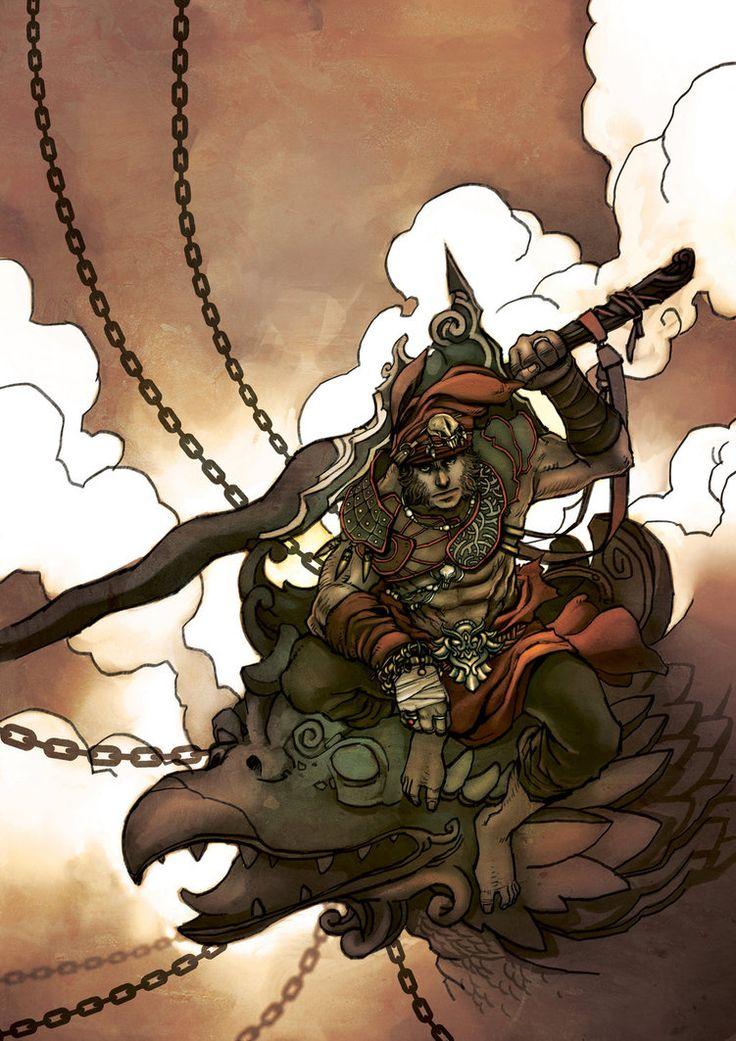 Malay Warrior by zamzami on DeviantArt