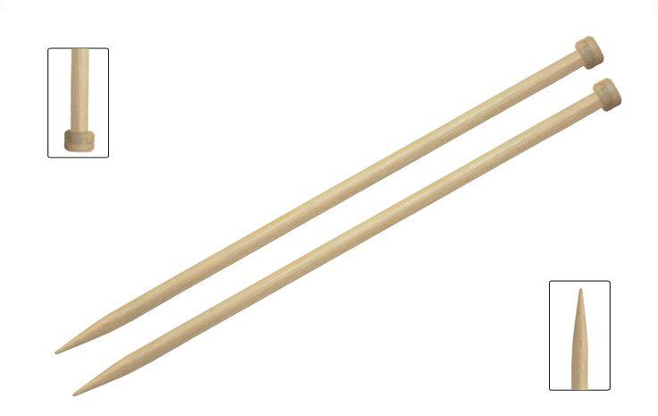 Druty proste drewniane BASIX BIRCH 35cm Włóczkowo
