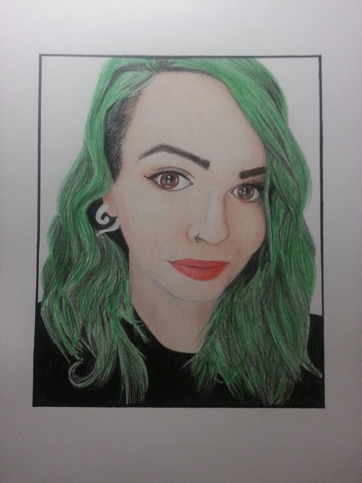 Austen Marie drawing by me. All done in pencils.