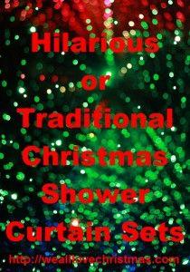 32 best christmas shower curtain set images on pinterest | shower