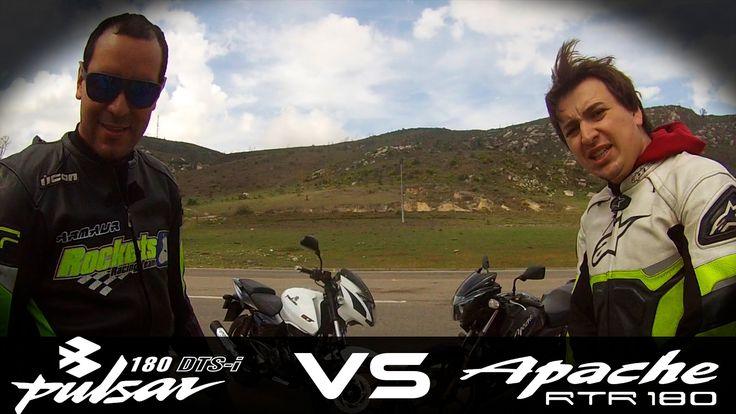 PULSAR 180 VS APACHE 180 Drag Race HD