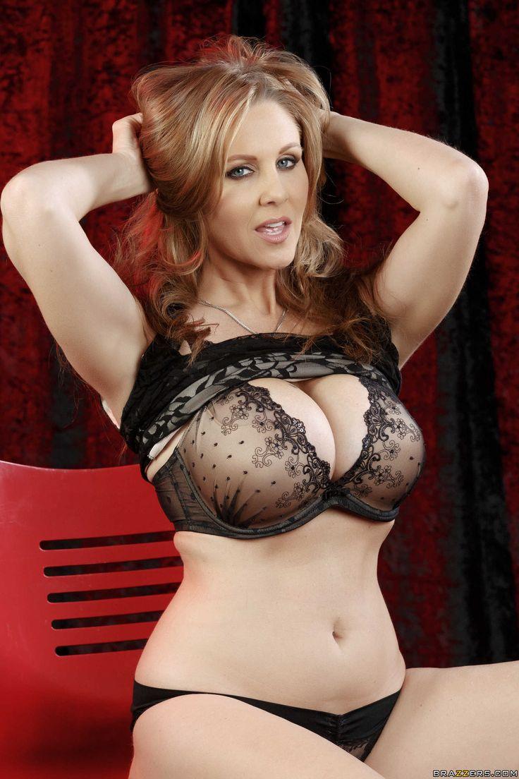 Busty milf julia ann gets tits covered in cum 4