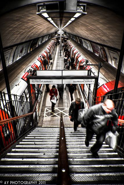 London Underground - Clapham Common Tube Station, London, England