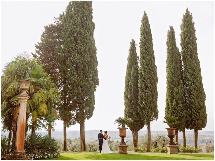 English Tuscan Wedding in Antica Fattoria di Paterno