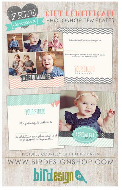 8 best gift certificate images on Pinterest Gift certificates - best of photographer gift certificate template