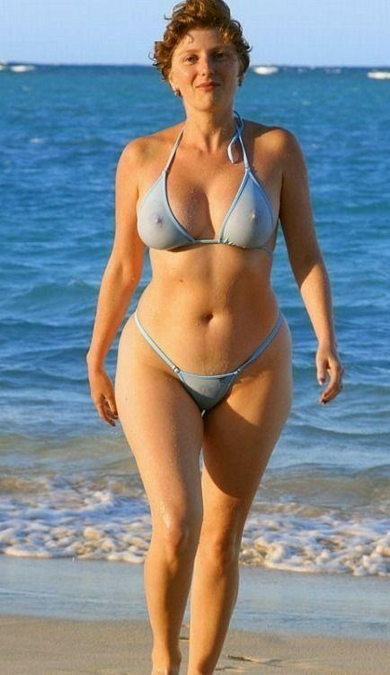 Blue Bikini, Curvy Swimwear, Swimsuits, Granny Dating, My Mature, Bikini  Fashion