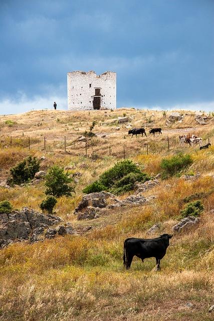 Old Windmill - Bodrum, Turkey
