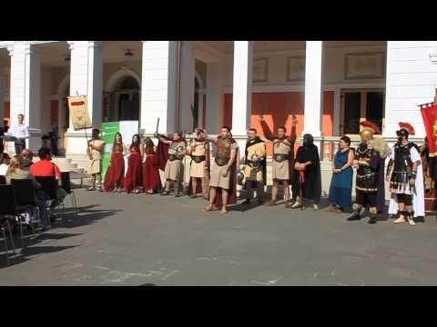 Salutul gladiatorilor Virtvs Antiqva - YouTube
