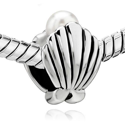 Pugster Shell Pearl Beads Charm Fit Pandora Chamilia Biagi Charms & Bracelet Pugster. $12.49. Unthreaded European story bracelet design. Pugster are adding new designs all the time. Money-back Satisfaction Guarantee. Free Jewerly Box. Fit Pandora, Biagi, and Chamilia Charm Bead Bracelets