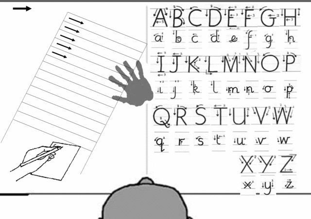 Pin about Handwriting without tears and Left handed on