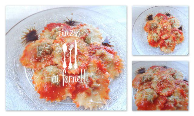 Valle d'Aosta - Ravioli di borragine - ricetta tipica valdostana: versione molto semplice con ravioli tondi. In inverno la borragine non si trova, si può sostituire il ripieno con un classico di biete o spinaci. Ricetta: http://cinziaaifornelli.blogspot.it/2013/09/cucina-valdostana-ravioli-di-borragine.html