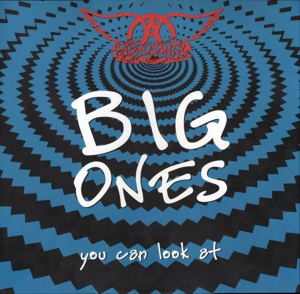 1994 Aerosmith Big Ones You Can Look at Laserdisc New Sealed RARE