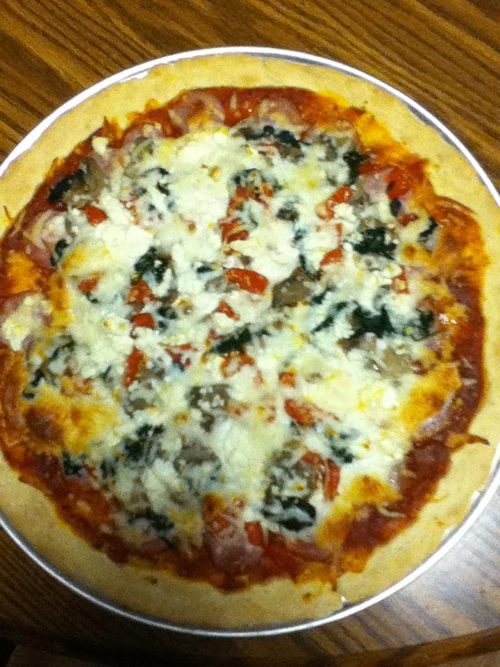 ... pizza with mozzarella and feta cheese more feta cheese pizza pie