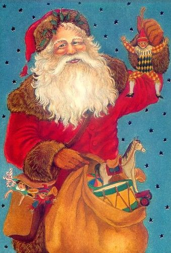 Merry Christmeas...Santa Claus is Coming to Town | Flickr - Photo Sharing! posted by Susan Criser Free to use in your Art only, not for Sale on a Collage Sheet or a CD