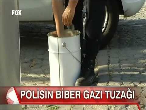 Polisin biber gazı tuzağı bir eylemciyi böyle hedef aldı