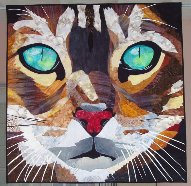 The Daily Blog @ The Quilt Show  Emerald Eyes was made by Elizabeth Janowitz in 2008