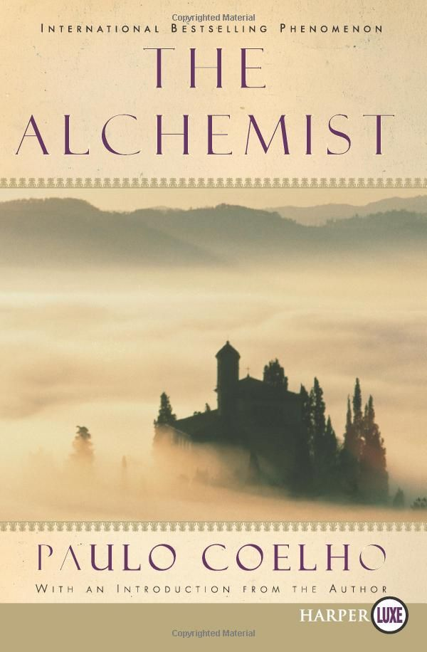 The Alchemist is the magical story of Santiago, an Andalusian shepherd boy who yearns to travel in search of a worldly treasure as extravagant as any ever found. From his home in Spain he journeys to the markets of Tangiers and across the Egyptian desert to a fateful encounter with the alchemist.