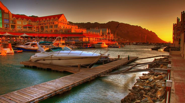 Harbour View Hotel, Gordon's Bay, South Africa.