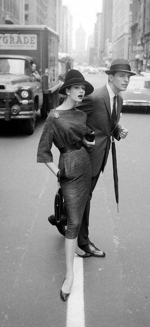 Simone D'Allencourt, Lower Manhattan 1950's