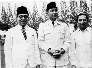 Muhamad Hatta, Sukarno, Sutan Syahrir