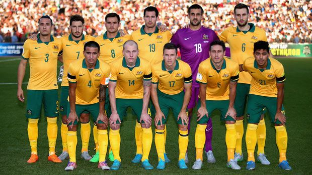 The Australian National Football Team Represents Australia In International Men S Football Officially Ni National Football Teams Football Tournament Australia