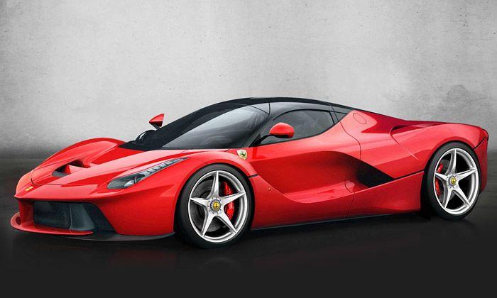 Ferrari ukázalo vůz LaFerrari s hybridním pohonem