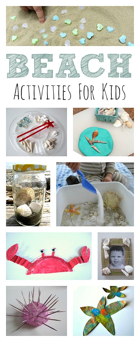Bring the beach to you with these fun beach activities for kids.