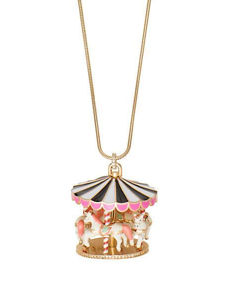 carnival nights carousel large pendant - Kate Spade New York