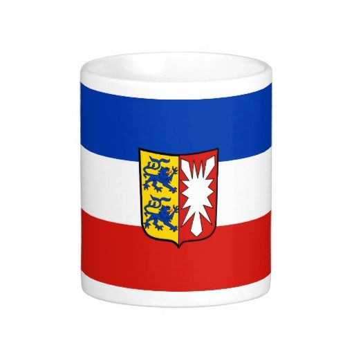 Flag of Schleswig-Holstein Basic White Mug