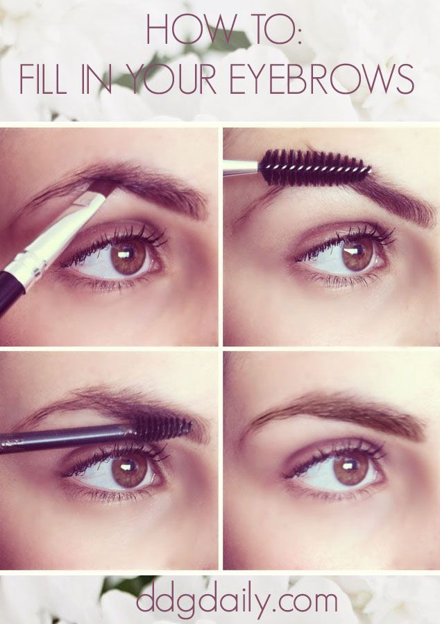 DDG DIY: How to fill in your eyebrows - dropdeadgorgeousdaily.com