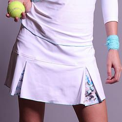 Scandinavia Pleat Skort by Denise Cronwall #Tennis, #Activewear, #denisecronwall, #skort, #sports, #skirt, #workout