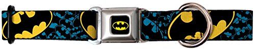 BuckleDown DCWBM016WM BMC Batman BlackYellow Dog Collar WIDEMedium1623 -- Find out more about the great product at the image link. This is an Amazon Affiliate links.