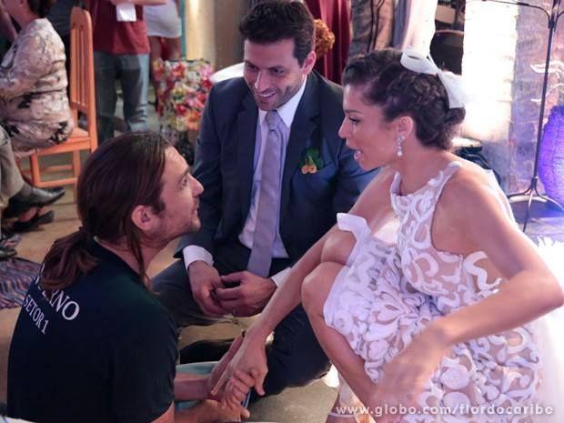 Estilista gaúcho conta bastidores da criação de vestido de noiva de Grazi Massafera
