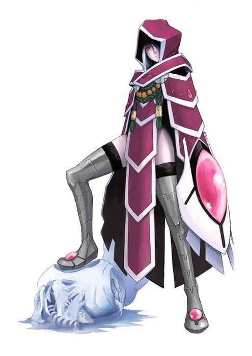 Tales of hearts R - Incarose She's an aspiration. I would love to plan her though. I enjoy cosplaying villains.