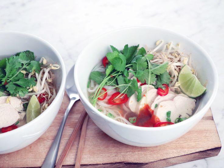 Pho - vietnamesisk soppa | Recept från Köket.se