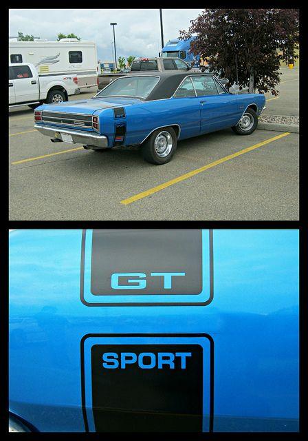 1969 Dodge Dart GTS by blondygirl, via Flickr