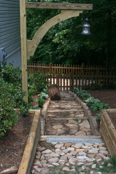 Do It Yourself Home Design: Landscape Timber & Other Cool Idea's: A Collection Of