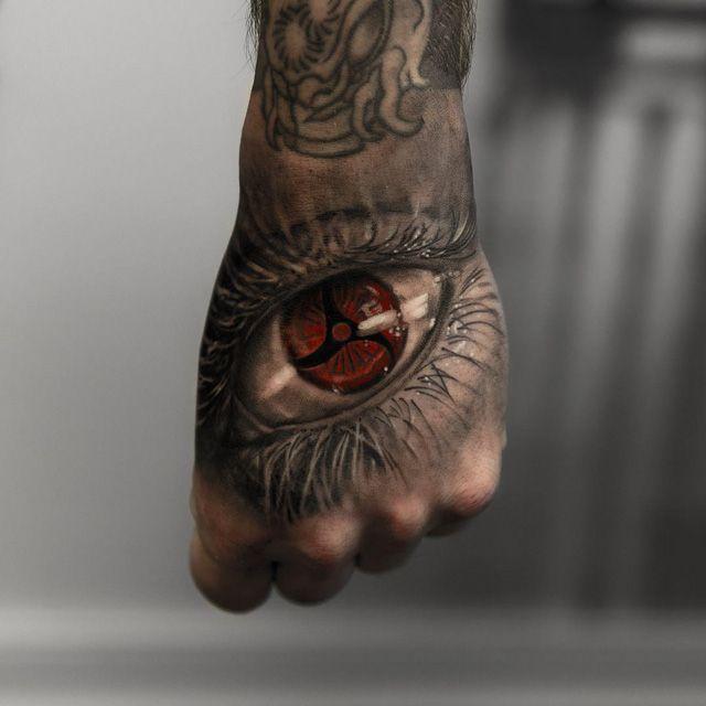 hand tattoo of eye                                                                                                                                                                                 Más